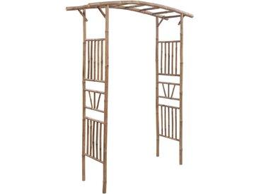 Arche pour rosiers Bambou 145 x 40 x 187 cm - vidaXL