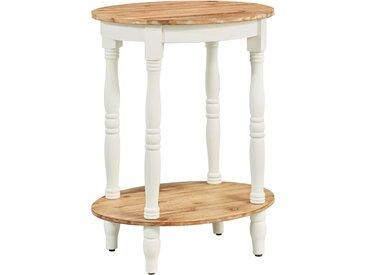 Table d'appoint 50x40x66 cm Bois d'acacia massif - vidaXL