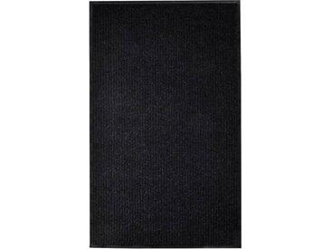 Paillasson Noir 160x220 cm PVC - vidaXL