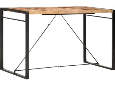 Table de bar 180x90x110 cm Bois solide - vidaXL
