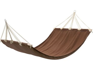 Hamac couleur brun 210 cm x 150 cm - vidaXL