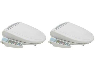 Sièges de toilette électroniques avec bidet 2 pcs - vidaXL