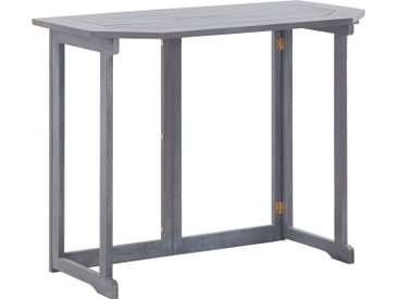 Table pliable de balcon 90x50x74 cm Bois d'acacia massif - vidaXL