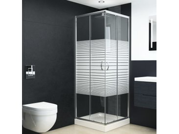 Cabine de douche Verre de sécurité 90x80x180 cm - vidaXL