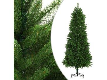 Arbre de Noël artificiel Aiguilles réalistes 240 cm Vert - vidaXL