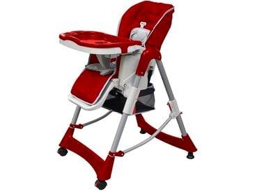 Chaise haute pour bébés Bordeaux Hauteur réglable - vidaXL