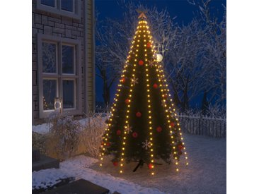Guirlande lumineuse filet d'arbre de Noël 300 LED IP44 300 cm - vidaXL