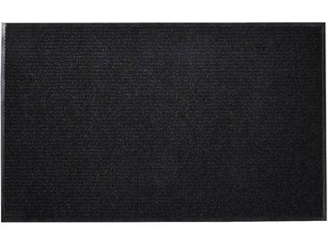 Tapis d'entrée Noir PVC 90 x 60 cm - vidaXL