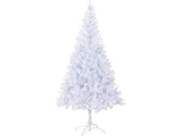 Arbre de Noël artificiel et support acier 210 cm 1210 branches - vidaXL