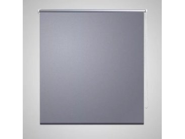 Store enrouleur occultant 160 x 175 cm gris - vidaXL