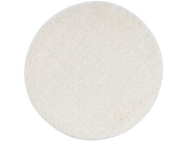 Tapis Shaggy 67 cm Crème - vidaXL