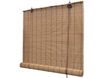 Store roulant Bambou Marron 150 x 220 cm - vidaXL