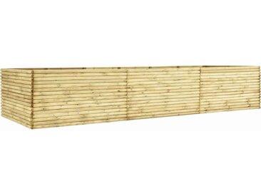 Lit surélevé de jardin 450x50x96 cm Bois de pin imprégné  - vidaXL