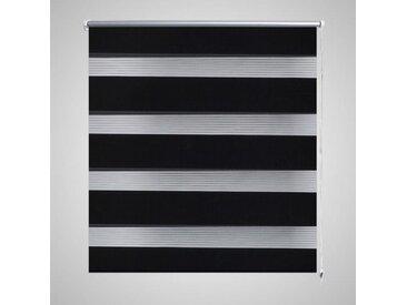 Store enrouleur tamisant 120 x 230 cm noir - vidaXL