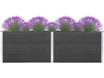 Jardinière 300 x 100 x 91 cm WPC Gris - vidaXL