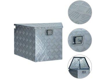 Boîte en aluminium 737/381x410x460 mm Argenté - vidaXL