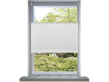 Store plissé 100x200 cm Blanc  - vidaXL