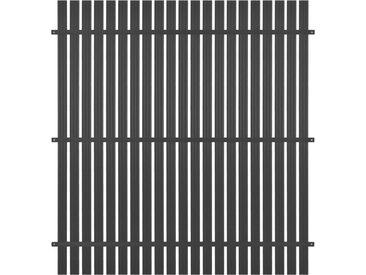 Panneau de clôture Aluminium 180x180 cm Anthracite - vidaXL