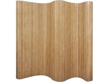 Cloison de séparation Bambou naturel 250x165 cm - vidaXL