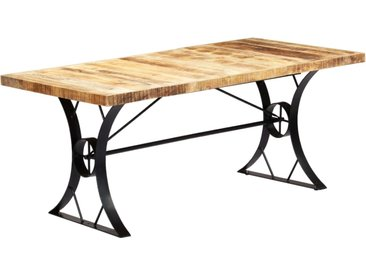 Table de salle à manger 180x90x76 cm Bois de manguier massif - vidaXL