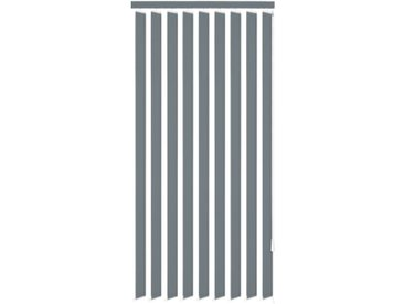 Store vertical 120 x 180 cm Tissu Gris - vidaXL