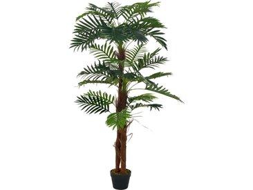 Plante artificielle avec pot Palmier Vert 165 cm - vidaXL