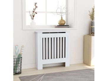 Cache-radiateur MDF Blanc 78 cm - vidaXL