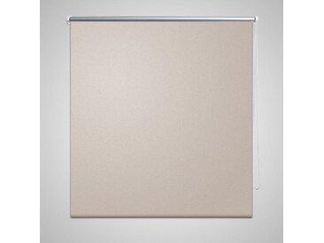 Store enrouleur occultant 140 x 230 cm beige - vidaXL