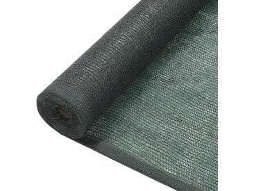 Filet brise-vue PEHD 2 x 50 m Vert - vidaXL