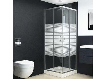 Cabine de douche Verre de sécurité 90x70x180 cm - vidaXL
