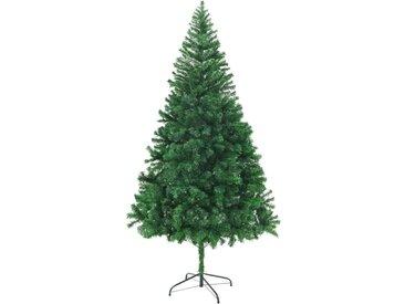 Arbre de Noël artificiel avec branches épaisses 210 cm - vidaXL