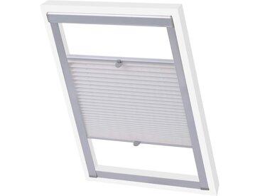 Store plissé Blanc U08/808  - vidaXL