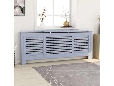 Cache-radiateur  MDF Gris 205 cm - vidaXL