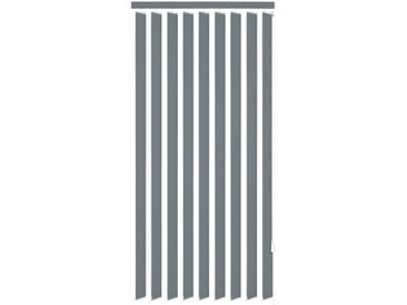 Store vertical 180 x 250 cm Tissu Gris - vidaXL