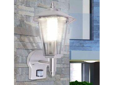 Lampe murale extérieure avec capteur Acier inoxydable - vidaXL