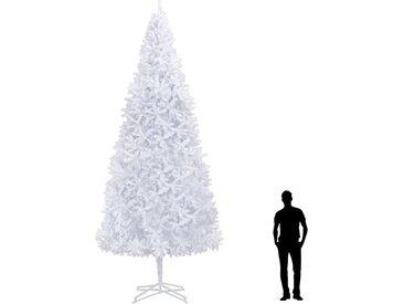 Sapin de Noël artificiel 500 cm Blanc  - vidaXL