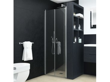 Portes de cabine de douche ESG 75x185 cm - vidaXL
