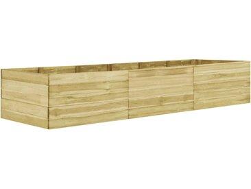 Lit surélevé de jardin 450x100x54 cm Bois de pin imprégné  - vidaXL