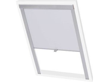 Store enrouleur occultant Blanc M04/304  - vidaXL