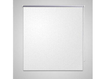 Store enrouleur occultant 140 x 230 cm blanc - vidaXL