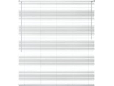 Store Aluminium 120 x 220 cm Blanc - vidaXL