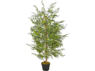 Plante artificielle avec pot Cyprès Vert 120 cm - vidaXL