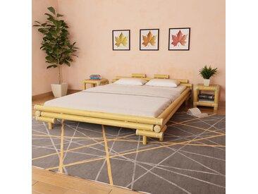 Cadre de lit Bambou 160 x 200 cm - vidaXL