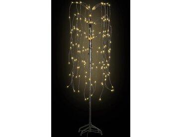Arbre de Noël LED blanche chaude Saule 150 cm - vidaXL