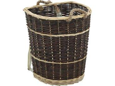 Sac à dos bois de chauffage sangles de transport 44,5x37x50 cm - vidaXL