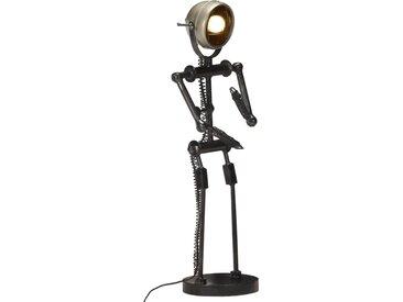 Lampadaire avec phare de moto en forme de poupée E27 - vidaXL