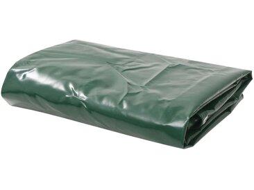 Bâche 650 g / m² 3,5 x 5 m Vert - vidaXL
