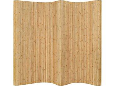 Cloison de séparation Bambou 250 x 165 cm Naturel - vidaXL