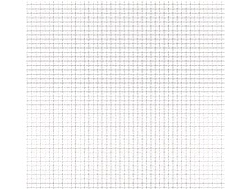 Clôture de jardin sertie Acier inoxydable 50x50 cm 31x31x3 mm - vidaXL
