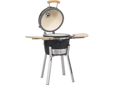 Barbecue à charbon Kamado Céramique 81 cm - vidaXL